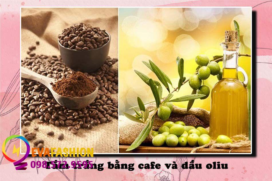 Tắm trắng bằng cafe và dầu oliu