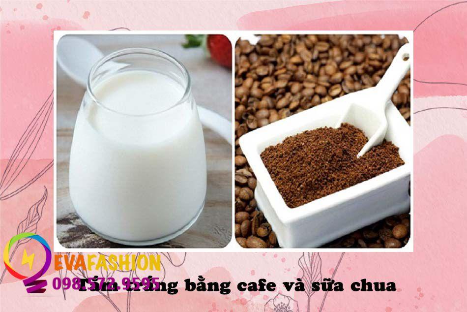 Tắm trắng bằng cafe và sữa chua