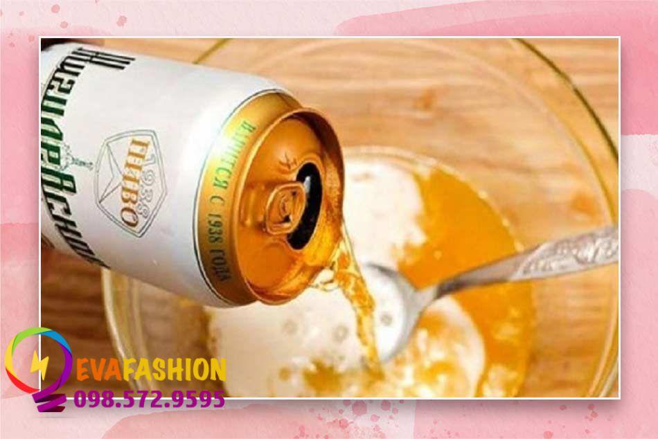 Tắm trắng toàn thân bằng vitamin B1 và bia