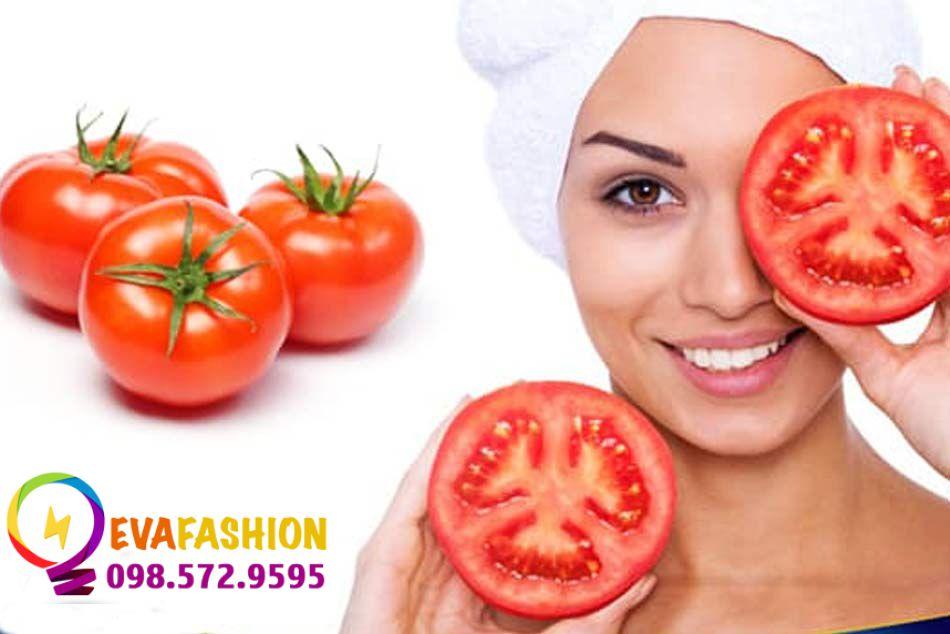 Mặt nạ cà chua xóa thâm quầng mắt lâu năm