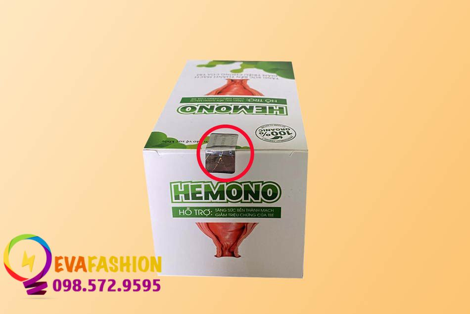 Hình ảnh tem chống giả của Viên uống Hemono