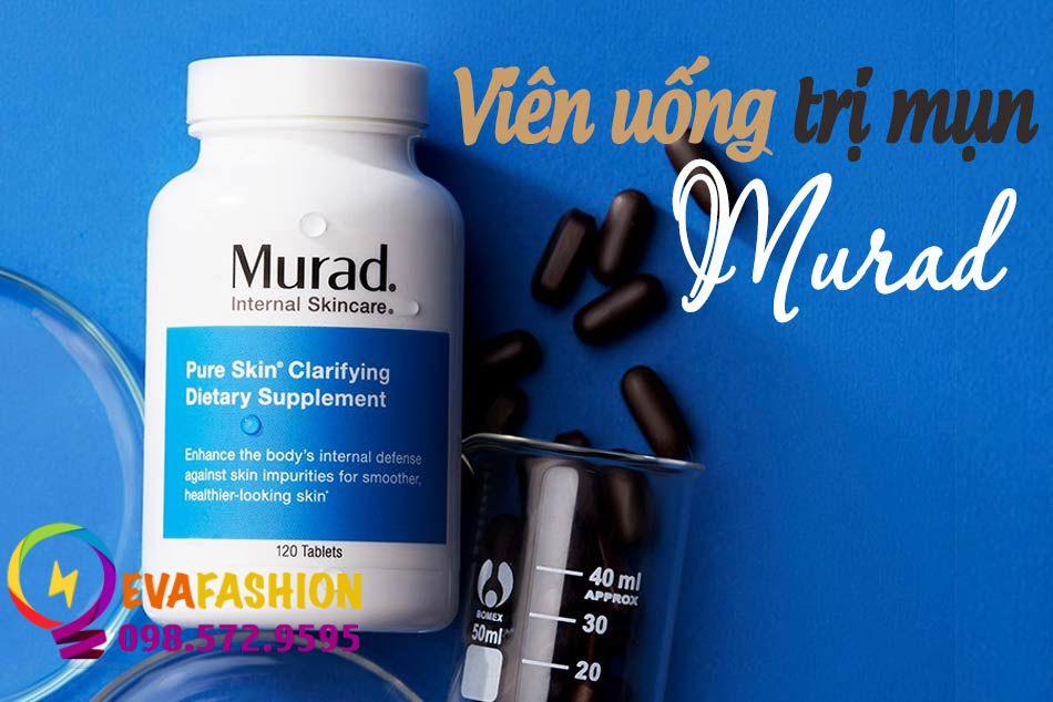 Viên uống trị mụn Murad
