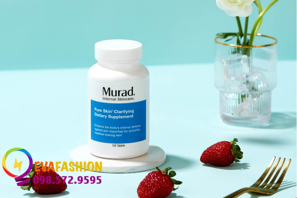 Hình ảnh lọ Viên uống trị mụn Murad