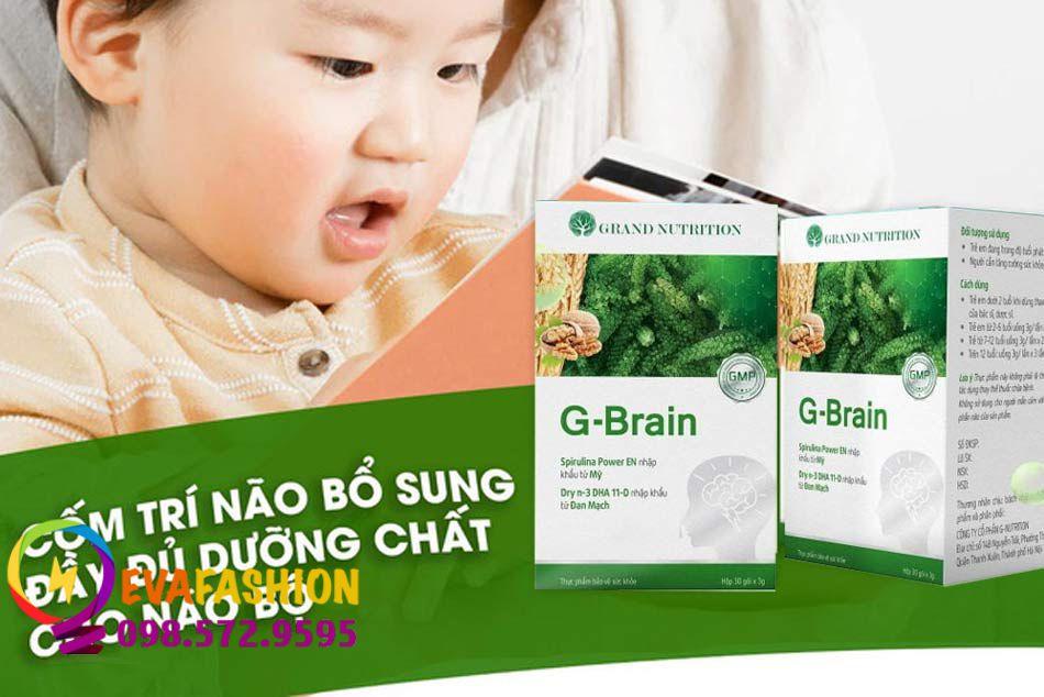 Cốm trí não G-Brain có tốt không?
