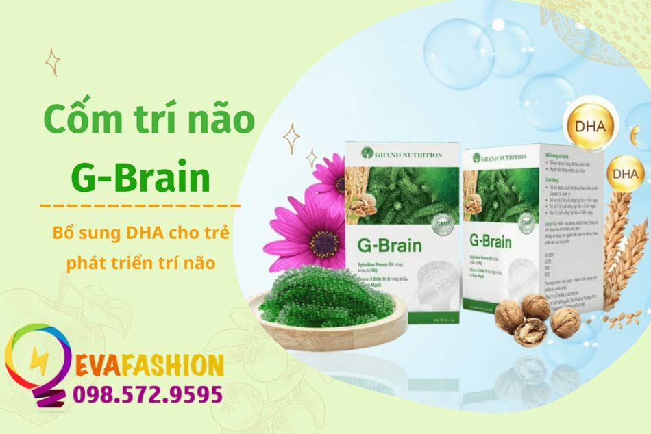 Cốm trí não G-Brain dành cho bé yêu