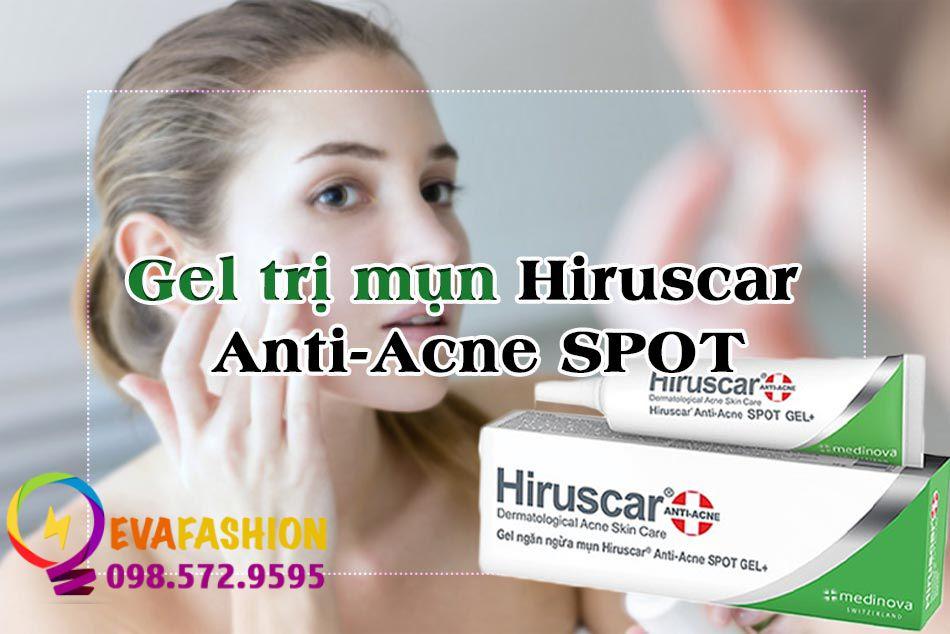 Gel trị mụn Hiruscar Anti-Acne Spot là gì?