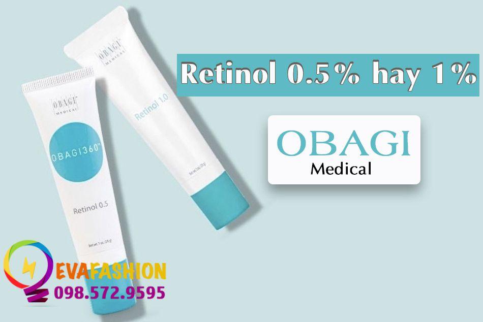 Retinol Obagi có tác dụng gì?