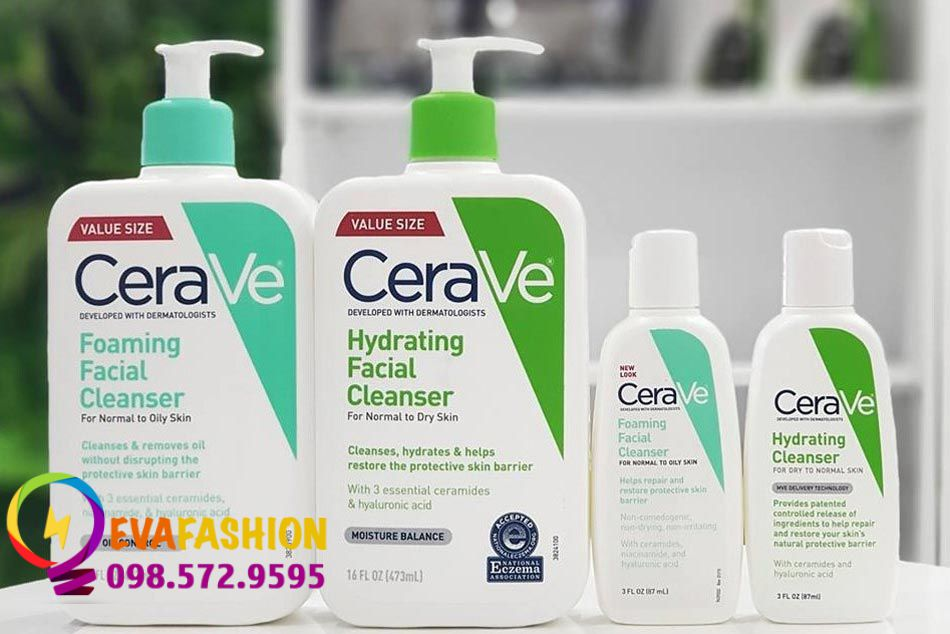 Sữa rửa mặt CeraVe có tốt không?