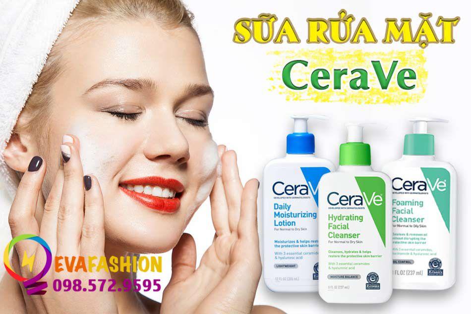 Sữa rửa mặt CeraVe dành cho da dầu mụn