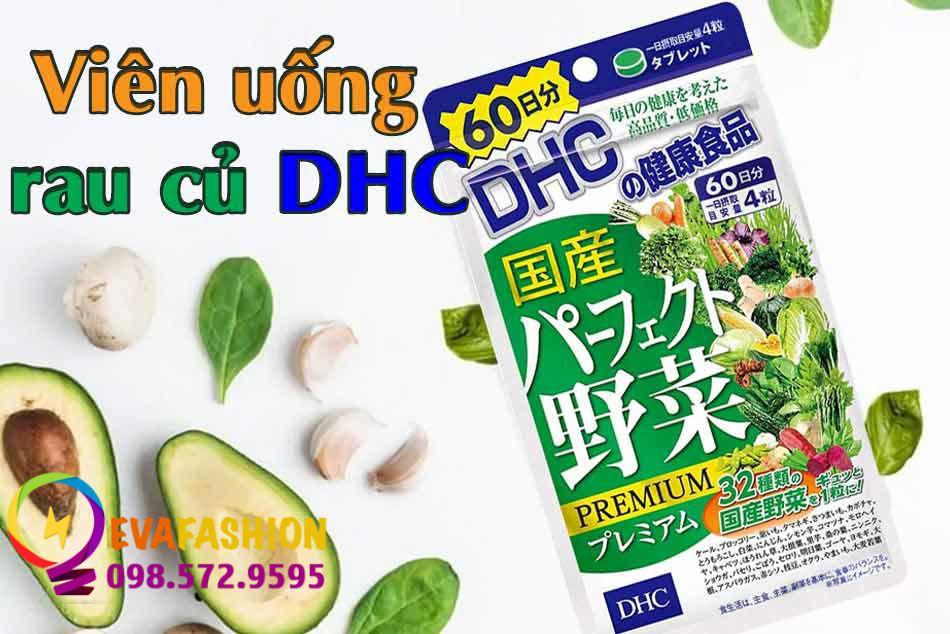 Viên rau DHC có tác dụng gì?