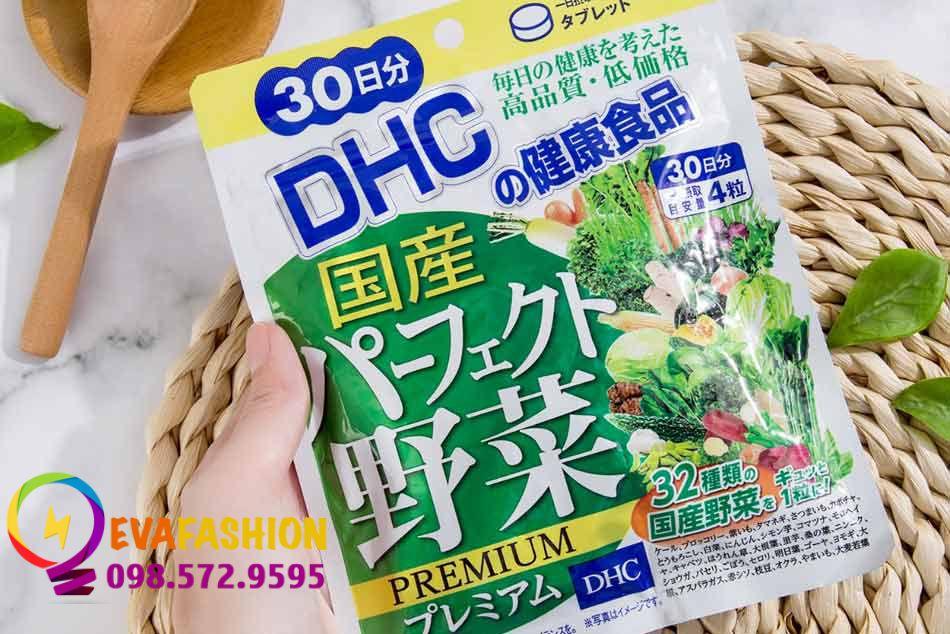 Viên rau DHC Nhật Bản