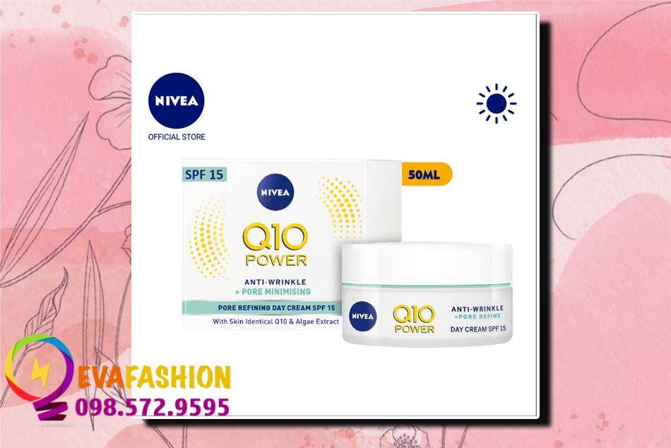 Kem dưỡng ẩm Nivea Q10 Plus Anti-Wrinkle Day Cream