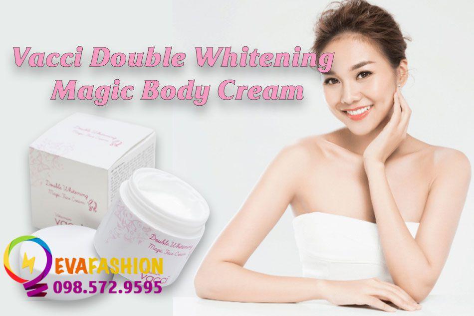 Kem Vacci Double Whitening Magic Body Cream