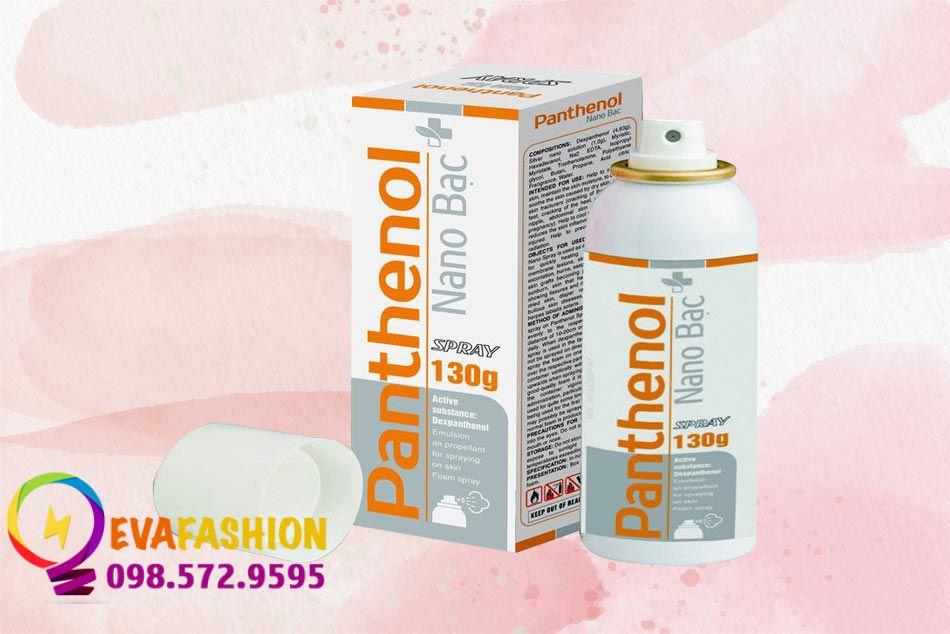 Xịt bỏng Panthenol Nano Bạc Spray của Đức