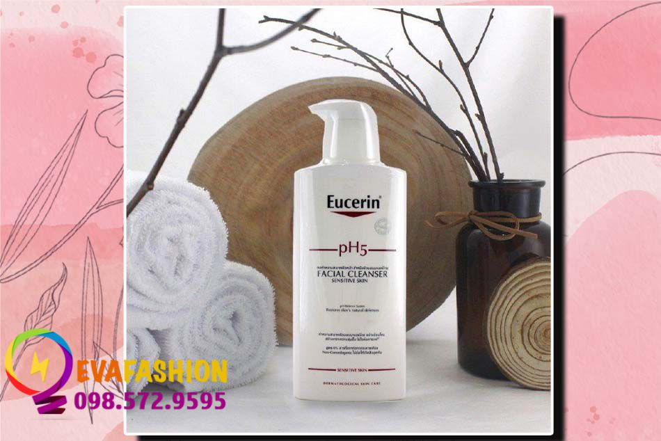 Sữa rửa mặt Eucerin pH5 cho da nhạy cảm