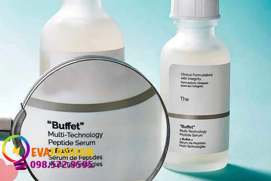 Thành phần của serum The Ordinary Buffet có tác dụng gì?