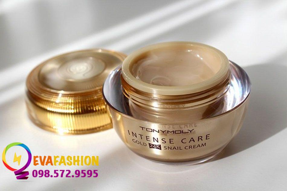 Cách phân biệt kem dưỡng ốc sên Tonymoly Intense Care Gold 24K Snail Cream thật - giả