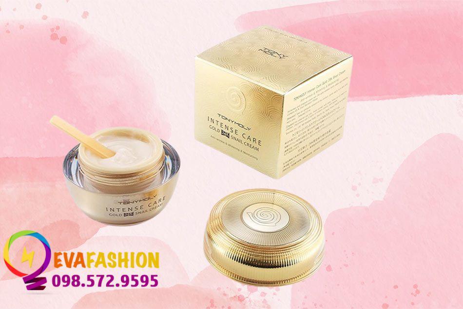 Kem dưỡng Tonymoly Intense Care Gold 24K Snail Cream có công dụng gì?